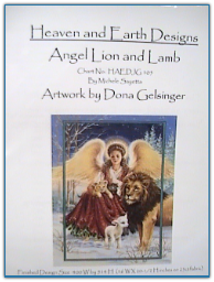 Angel Lion and Lamb / Heaven and Earth Designs