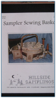 Sampler Sewing Basket / Hillside Samplings