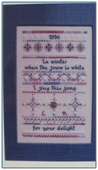 Winter Song / La Broderie