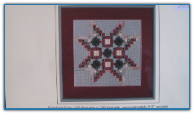 California Star Quilt Patch / Rainbow Gallery