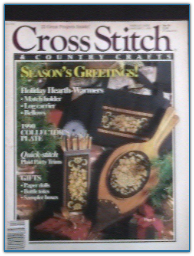 Dec 1990 / Cross Stitch and Country Crafts