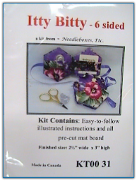 Itty Bitty 6 sided Needle Box / Needleboxes